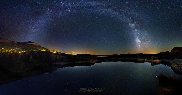银河-拍摄于西班牙Nerpio