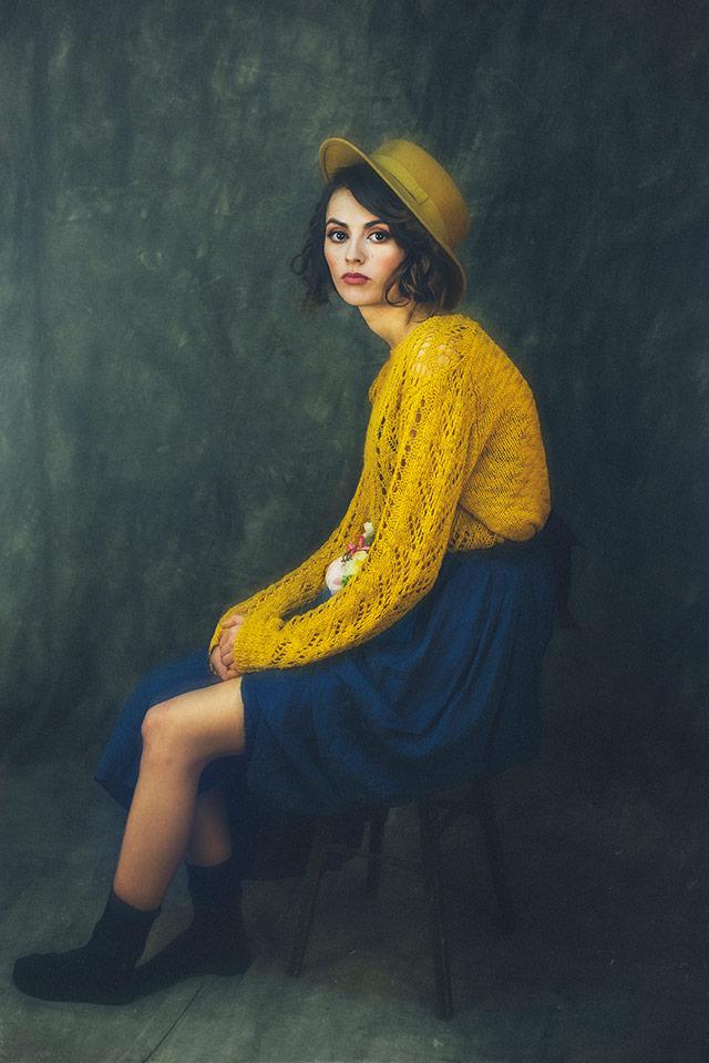 Cristina Venedict拍摄的画意优雅肖像  -10