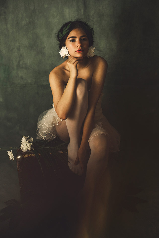 Cristina Venedict拍摄的画意优雅肖像  -2