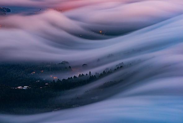 流动的雾,凝固的时间