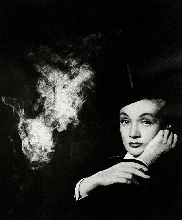 Marlene Dietrich in 1955