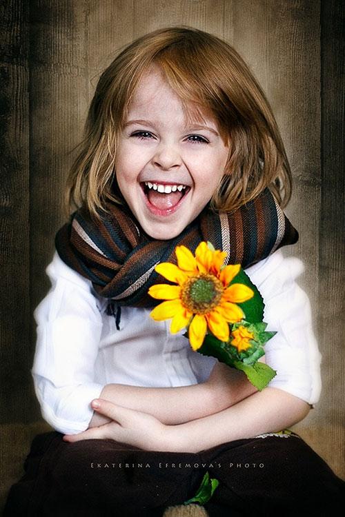 Ekaterina Efremova的唯美儿童摄影作品