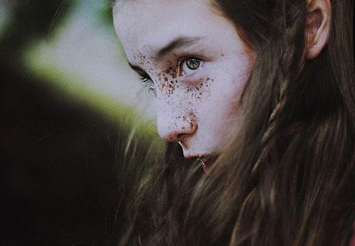 略显另类的面孔 Cristina Hoch肖像摄影作品