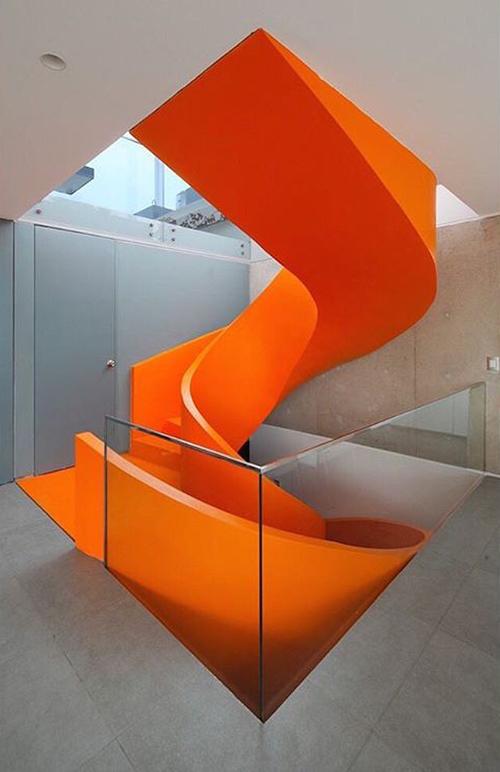 橘色的造型