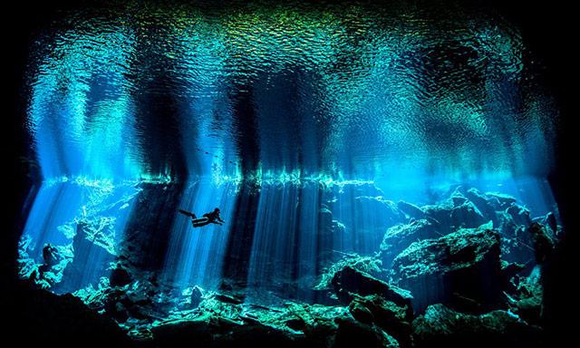深蓝 地点:墨西哥尤卡坦半岛水下
