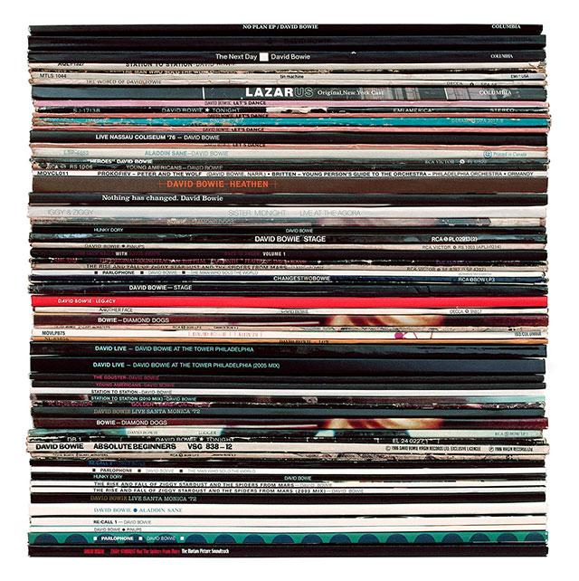 大卫·鲍伊(David Bowie)的唱片