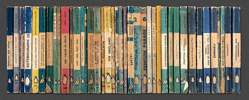 企鹅出版集团标识:物美、价廉,便于携带的平装书