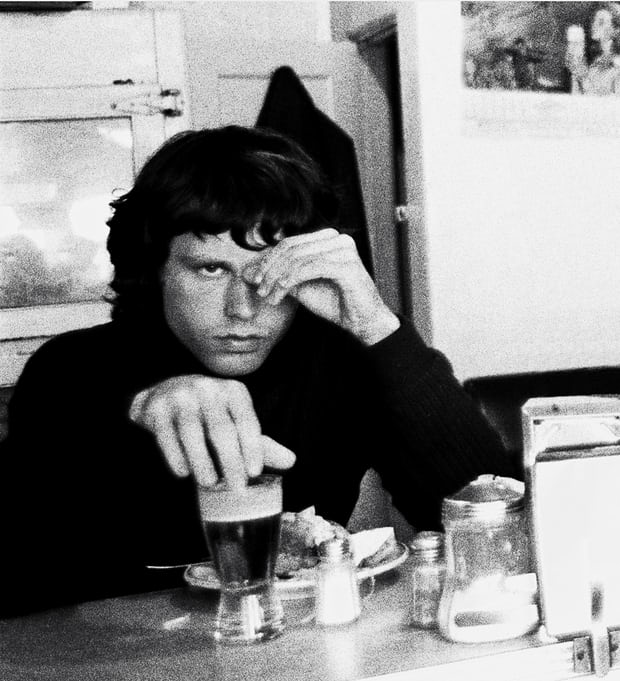 Jim Morrison of the Doors in 1967. Photograph: Bobby Klein